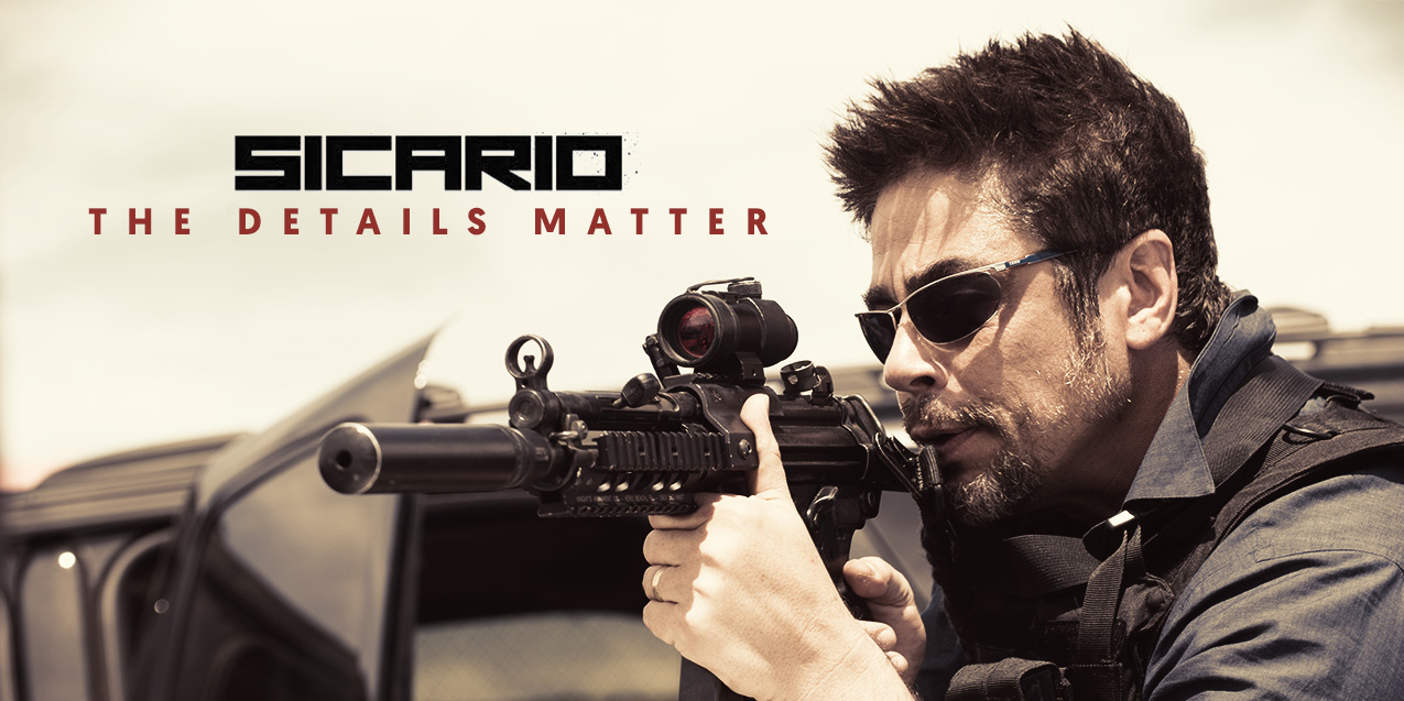 """The Drug War Thriller """"Sicario"""" Gets the Guns Right (and Everything Else)"""