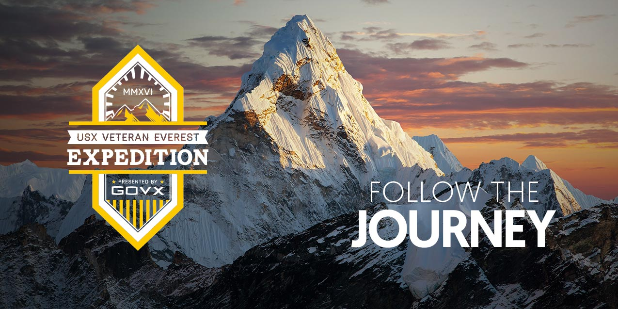 Follow the Journey of the First Active Duty Soldiers to Summit Mt Everest!