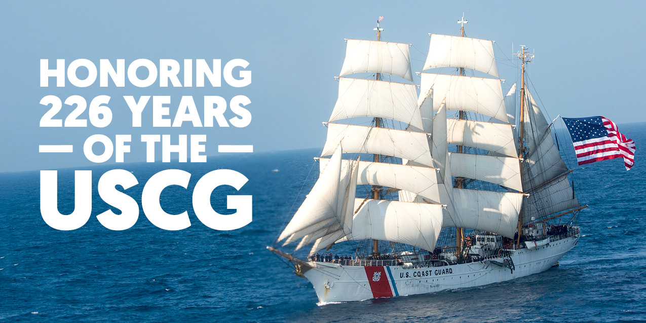 Honoring 226 Years of the United States Coast Guard