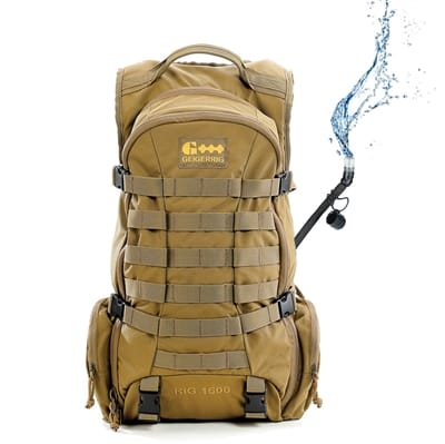 Picture of RIG 1600 Tactical Hydration Pack G5 1600TAC - Coyote