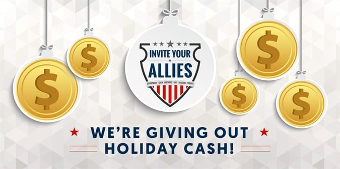 Win $500 in Holiday Cash!