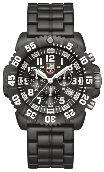 Luminox navy seal colormark chronograph 3080 series watch gov 39 t military discount govx for Watches navy seals use